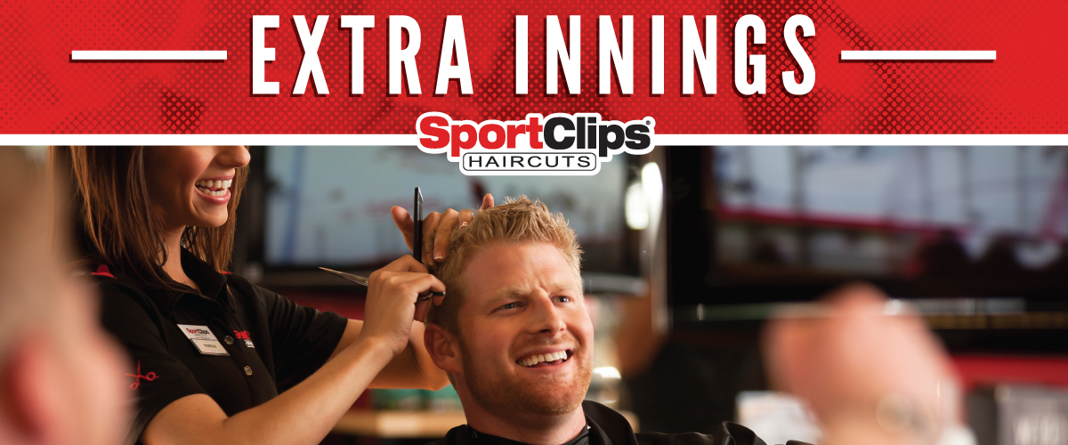 The Sport Clips Haircuts of Ashwaubenon Extra Innings Offerings